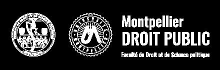 Montpellier droit public Logo